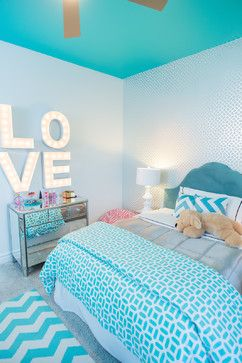 decoracao quarto adolescente moderno azul