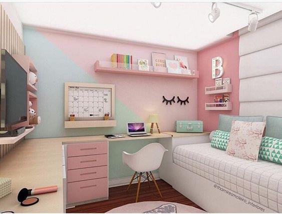 decoracao quarto adolescente moderno
