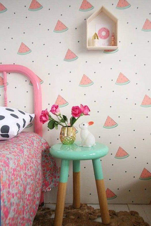 decoracao quarto com papel de parede 10