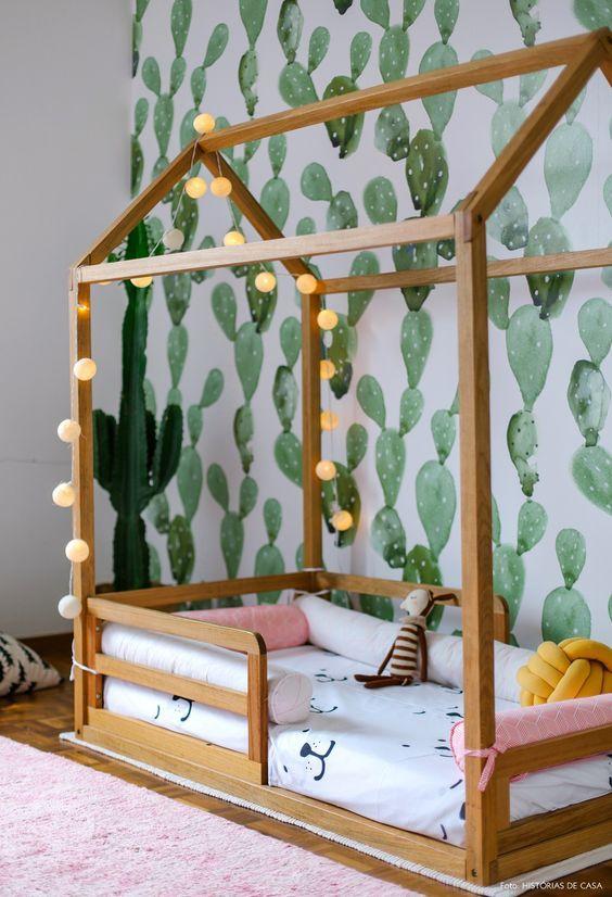 decoracao quarto com papel de parede 2