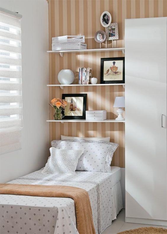 decoracao quarto com papel de parede 3