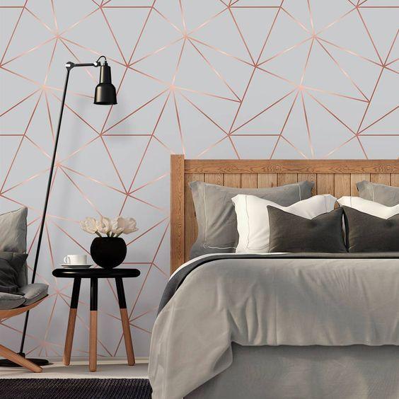 decoracao quarto com papel de parede 7
