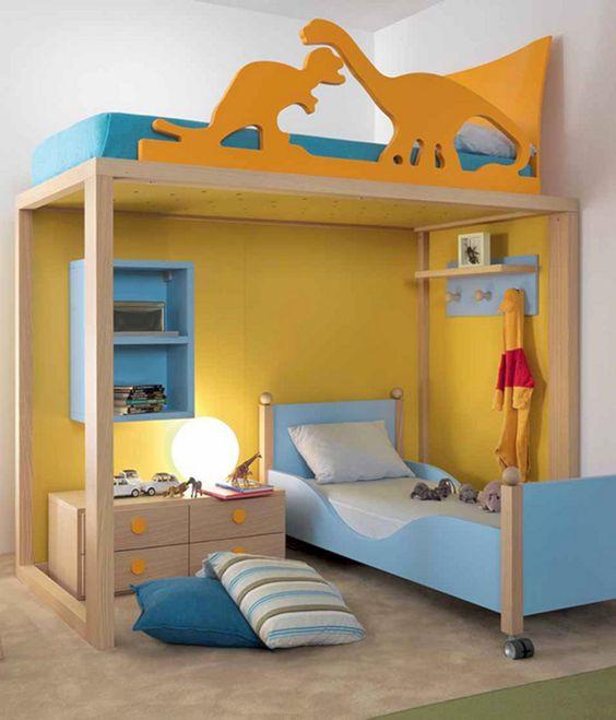 decoracao quarto infantil beliche colorido