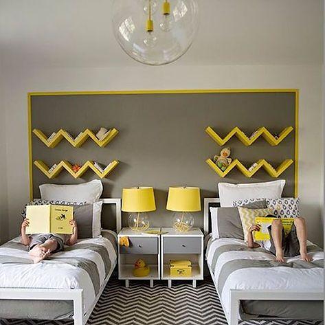 decoracao quarto infantil para dois