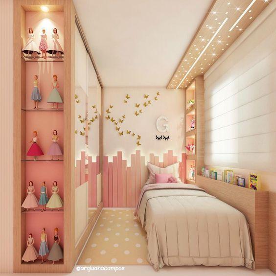 decoracao quarto infantil pequeno