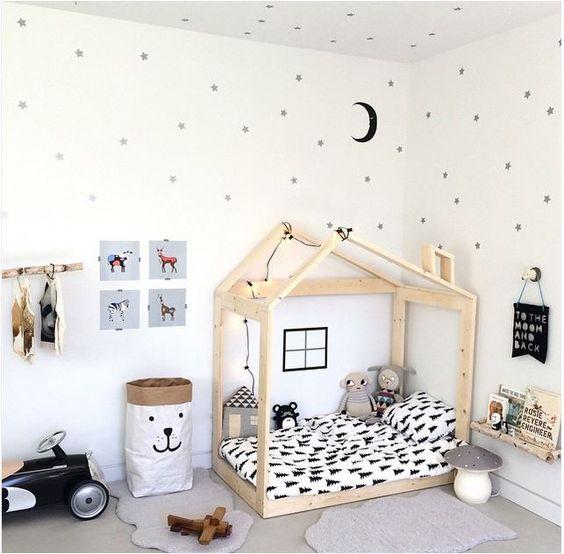 decoracao quarto infantil simples montessariano