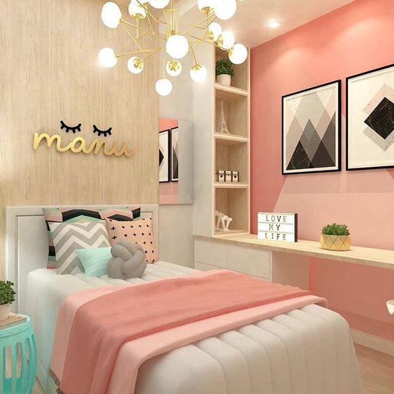 decoracao quarto menina simples