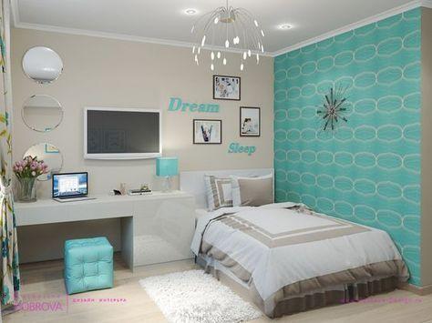 Cores para quarto de menina for Ideas decorar habitacion juvenil chica