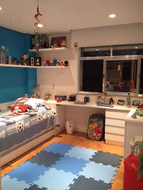 decoracao quarto menino branco