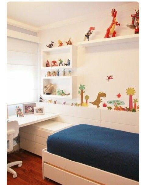 decoracao quarto menino dinossauro