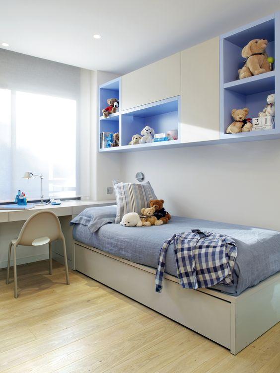 Cores para quarto de menino for Decoracion cuartos pequenos ninos