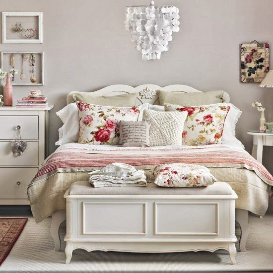 decoracao quarto romantico casal branco