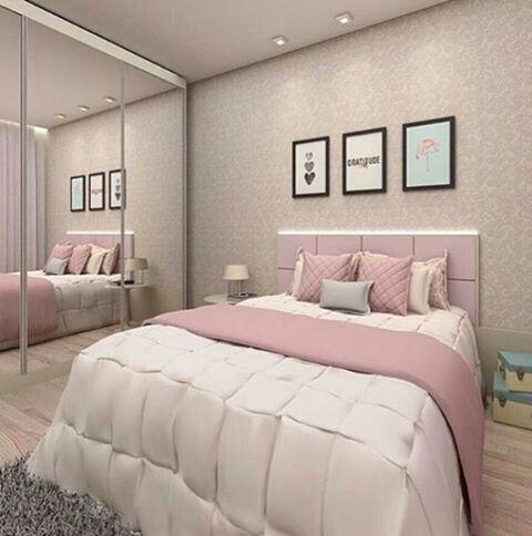 decoracao quarto romantico pequeno