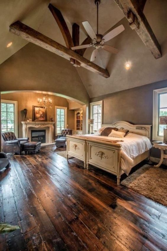 Luxury Ideas For Lavish Living Room Style: Quartos Rústicos