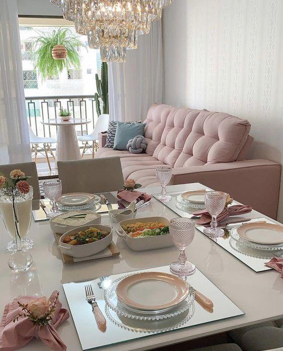 decoracao sala de estar e jantar 1