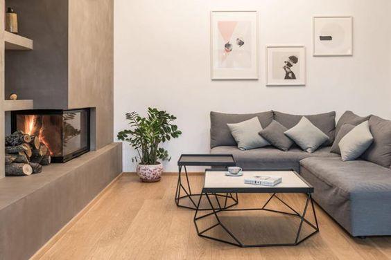 Decoração de Apartamentos com Lareiras