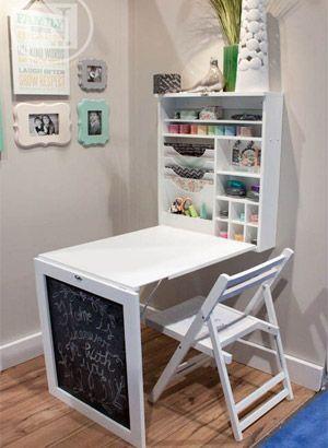 decoracao salao beleza pequeno mesa
