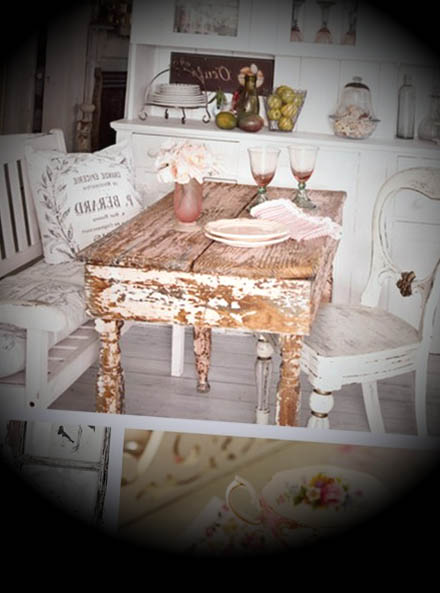decoracao shabby chic