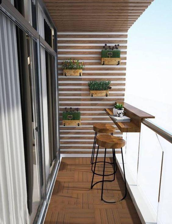 decoracao terraco pequeno simples