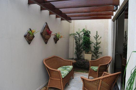 decoracao terraco simples mobilia