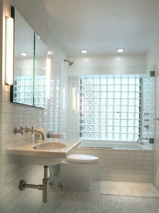 decoracao tijolos vidro banheiro 1