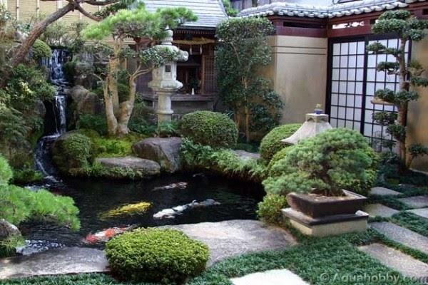 decoracao tipos de jardim japones