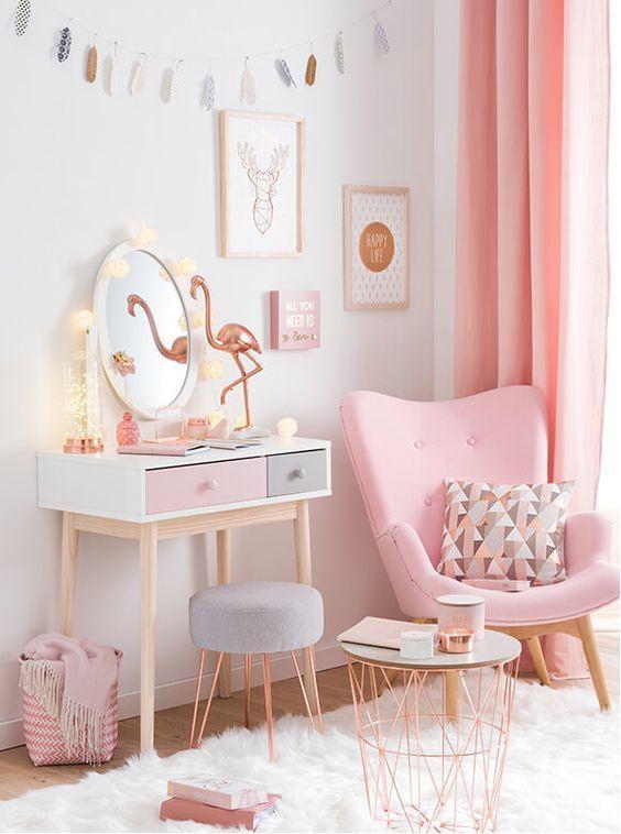 decoracao tom pastel quarto simples