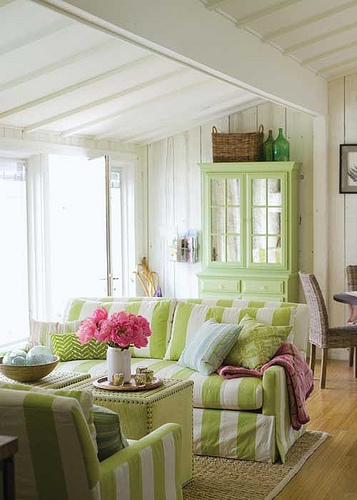 decoracao verde para sala