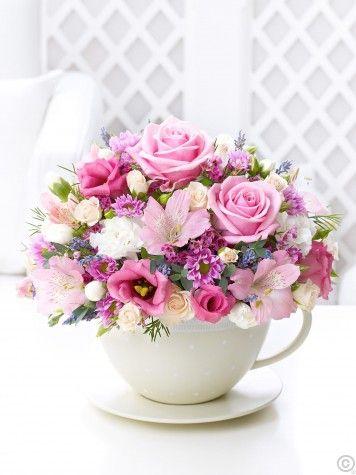 decoracao xicaras flores 3