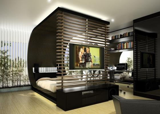 decoracao masculina apartamentos