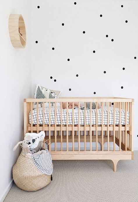 decoraco quarto bebe minimalista