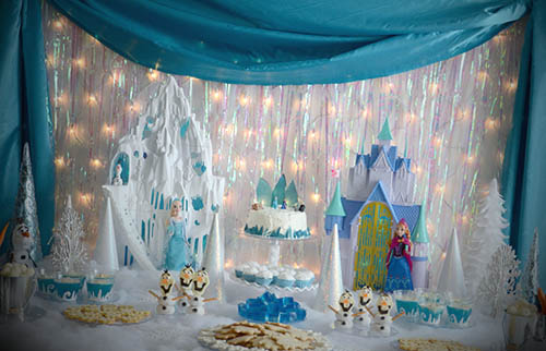 decorar aniversario frozen