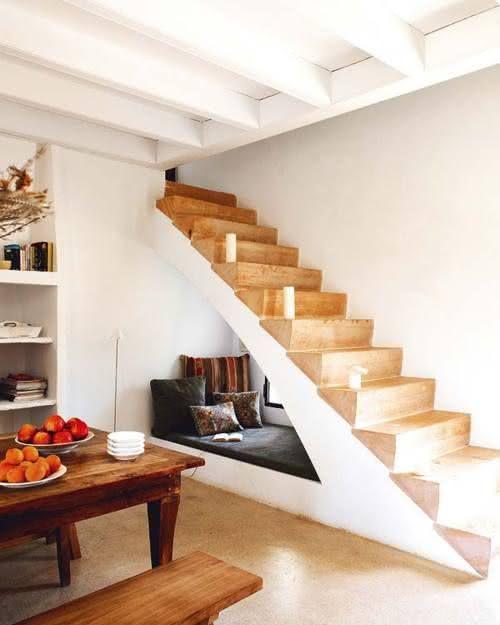 decorar baixo escadas 1