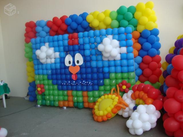 decorar com baloes