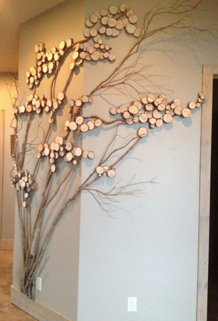 decorar com galhos secos 8