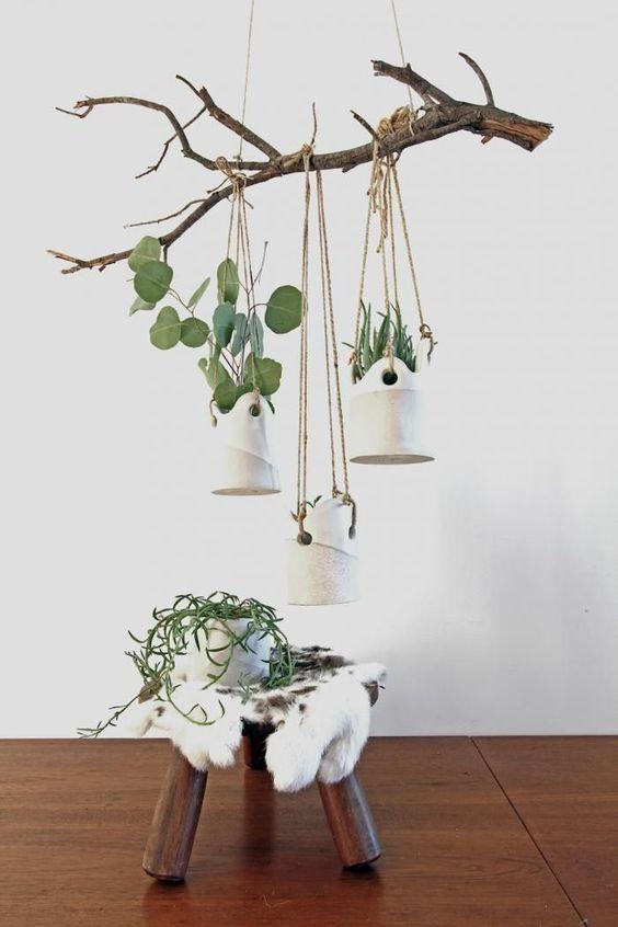 decorar com galhos secos 9