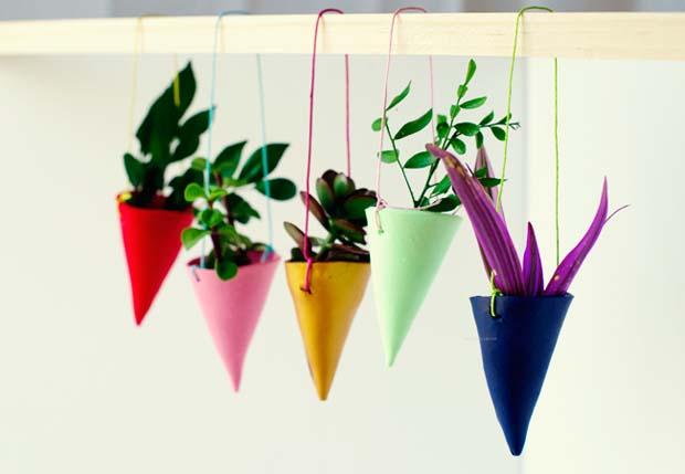 decorar com plantas suspensas 10
