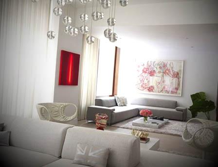 decorar interiores apartamentos modernos
