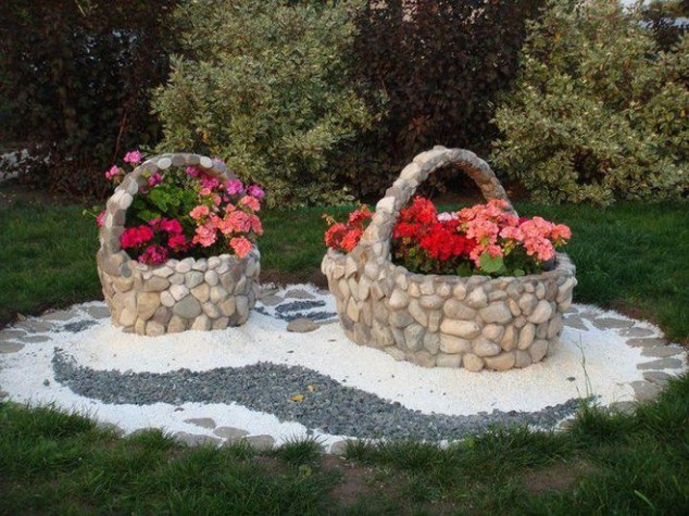 decorar jardim com pedras 1