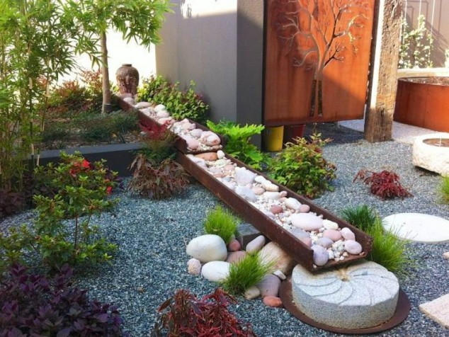decorar jardim com pedras 5