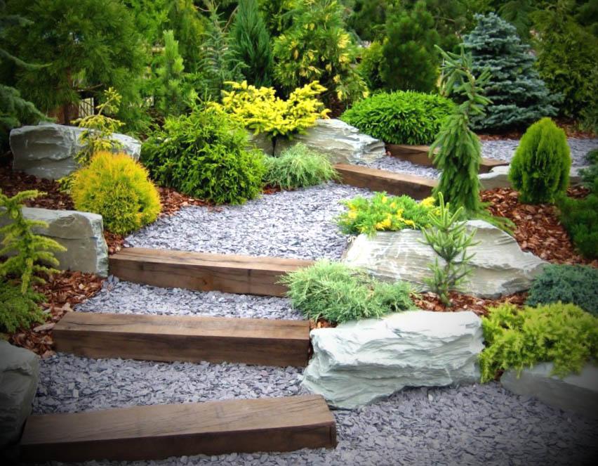decorar jardim externo