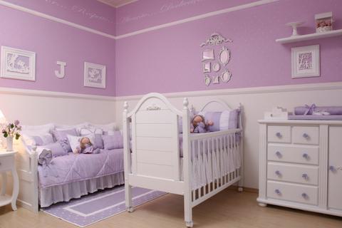 decorar quarto bebe menina