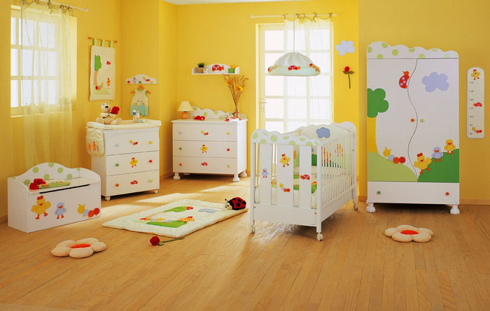 decorar quarto bebe tendencias