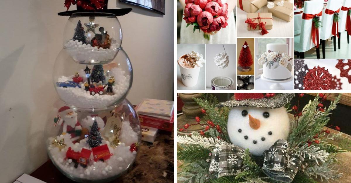 Ideias Criativas Para A Decoração De Natal