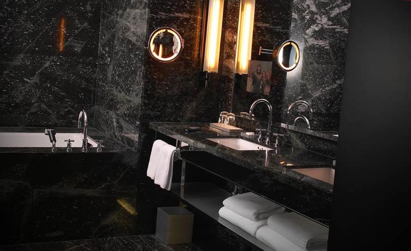 dicas decorar banheiro preto
