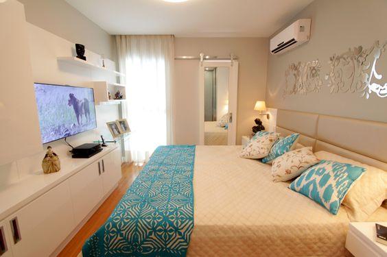 dicas ideias decoracao quartos sonho branco azul