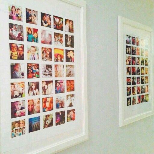 dicas organizar fotos quadros