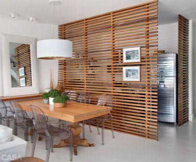 divisao ambientes madeira ideias