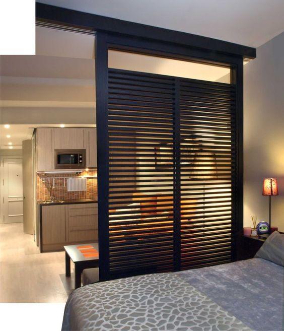 divisao ambientes madeira quarto