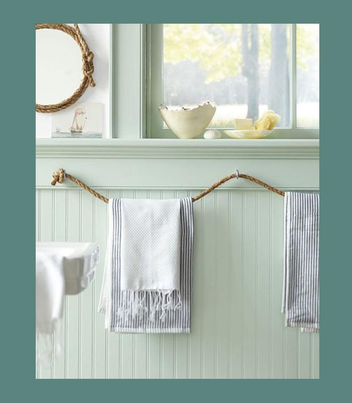diy decoracao corda banheiro
